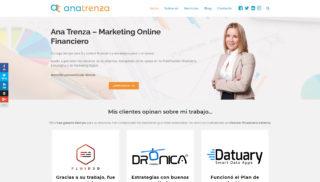 Desarrollo Web realizado a Ana Trenza