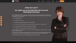Desarrollo Web realizado a Elia Guardiola