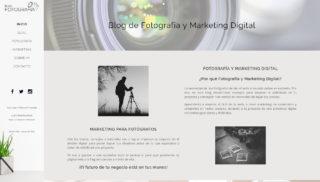 Desarrollo Web realizado a Blogfotografia - Enrique de Dios