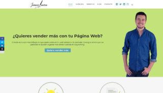 Desarrollo Web realizado a Juanca Linares