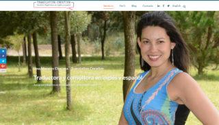 Desarrollo Web realizado a Lina Morales Chacana
