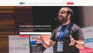 Desarrollo Web realizado a Marketing and Web - Miguel Florido