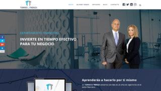 Desarrollo Web realizado a Torres y Trenza