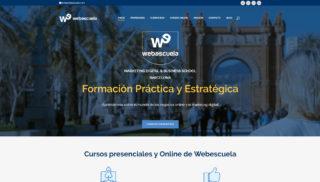 Desarrollo Web realizado a José Facchin - Webescuela